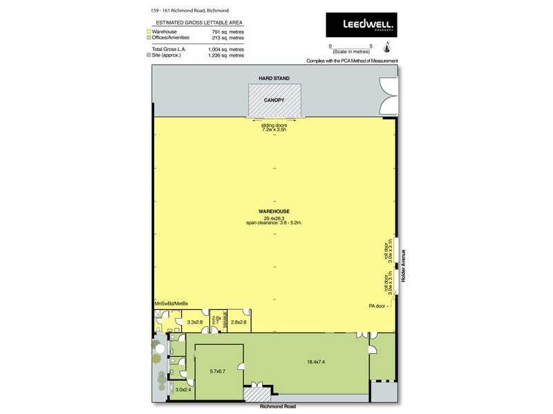 159 - 161 Richmond Road Richmond SA 5033 - Floor Plan 1