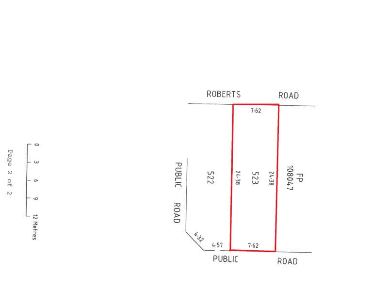 6 Roberts Road Hackham West SA 5163 - Floor Plan 1