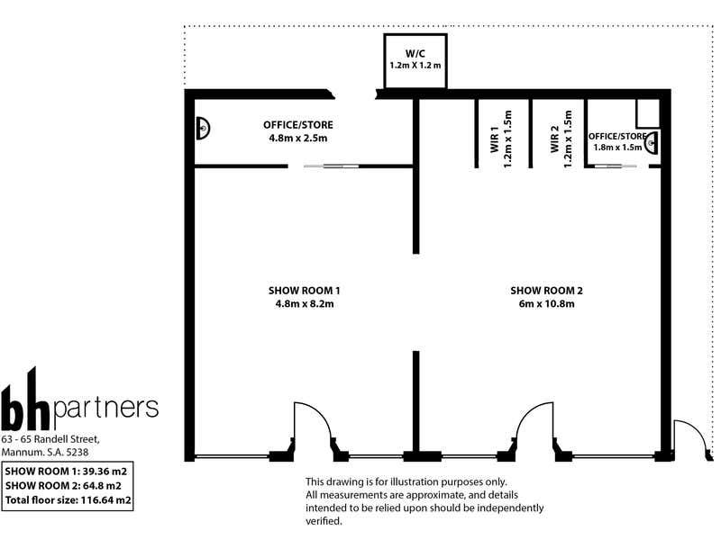 63-65 Randell Street Mannum SA 5238 - Floor Plan 1