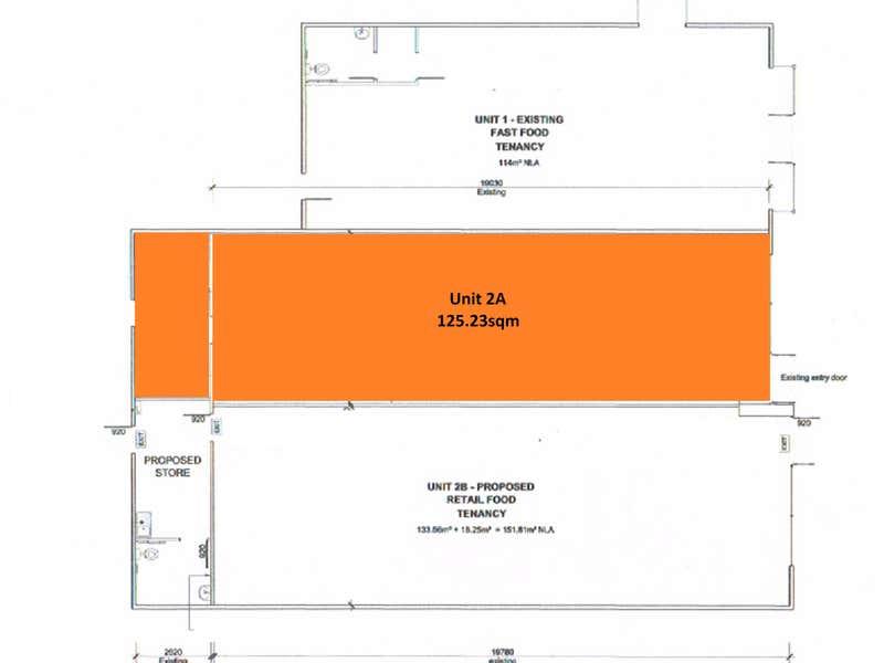 Shop 2A, 377 Warnbro Sound Avenue Port Kennedy WA 6172 - Floor Plan 1