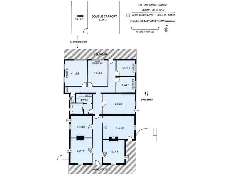 104 Rose Terrace Wayville SA 5034 - Floor Plan 1