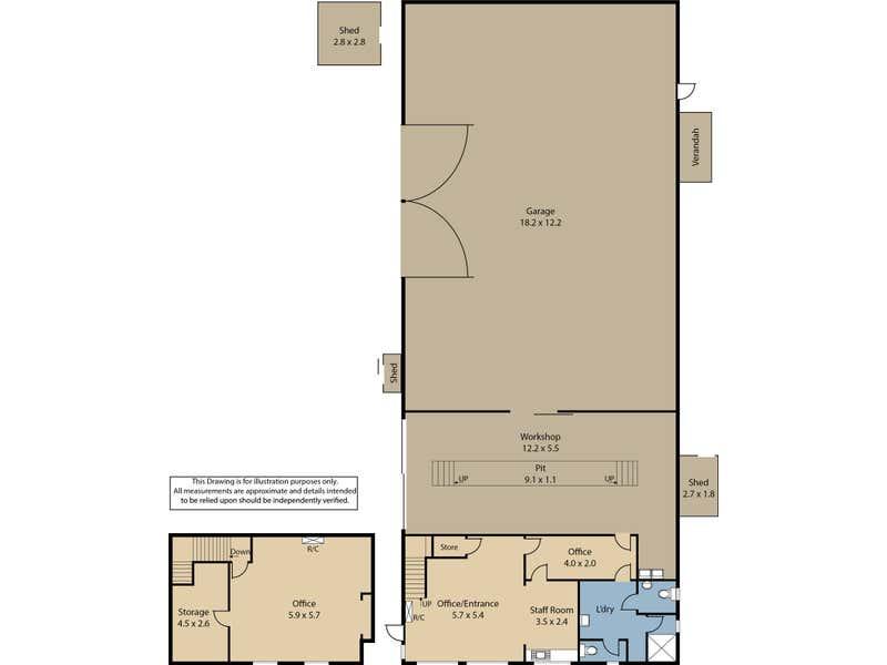 26 Bernard Court Gawler Belt SA 5118 - Floor Plan 1