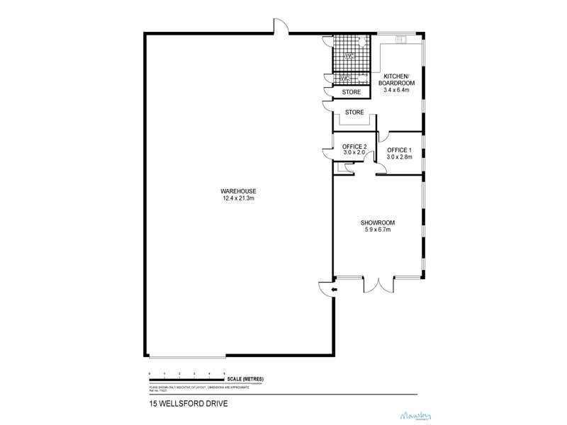 15 Wellsford Drive East Bendigo VIC 3550 - Floor Plan 1