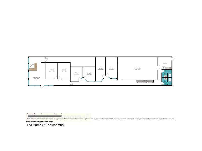 1/173 Hume Street Toowoomba City QLD 4350 - Floor Plan 1