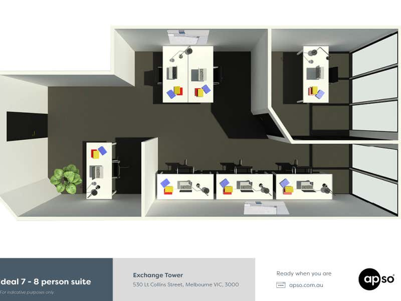 Exchange Tower, 530 Little Collins Street Melbourne VIC 3000 - Floor Plan 2