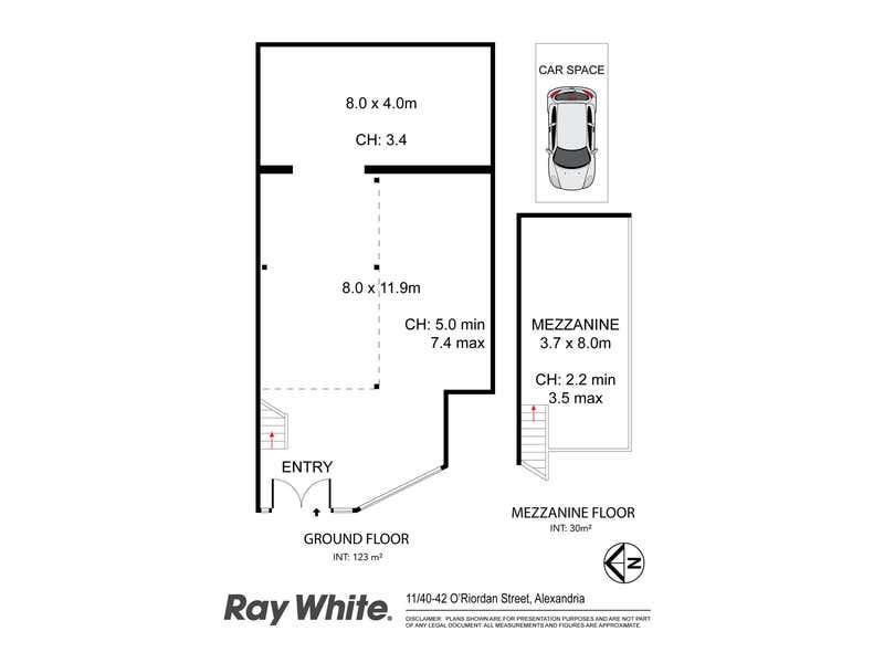 11/40-42 O'Riordan Street Alexandria NSW 2015 - Floor Plan 1