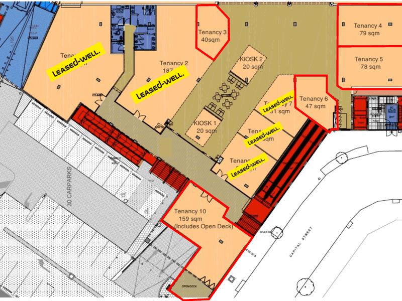 Capital Street Shopping Centre, 8 Capital Street Mawson Lakes SA 5095 - Floor Plan 1