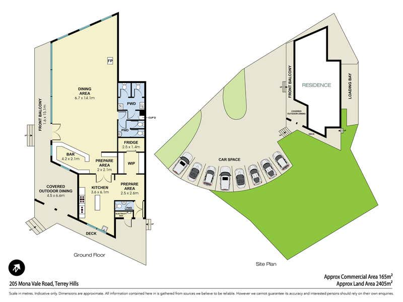 205 Mona Vale Road Terrey Hills NSW 2084 - Floor Plan 1