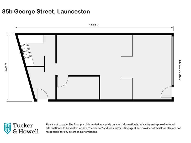 85b George Street Launceston TAS 7250 - Floor Plan 1