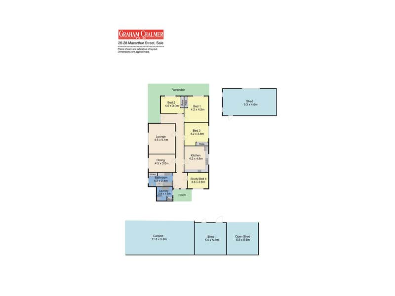 26-28 Macarthur Street Sale VIC 3850 - Floor Plan 1