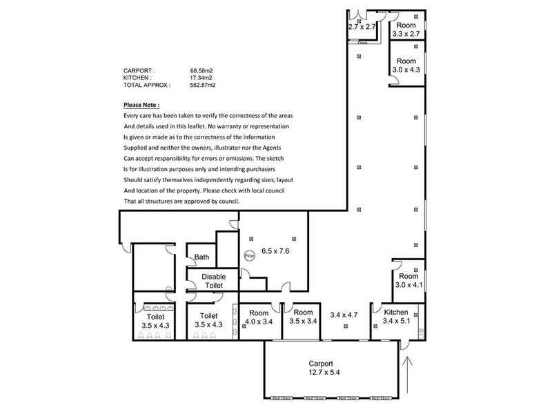 2/23 High Street Gawler SA 5118 - Floor Plan 1