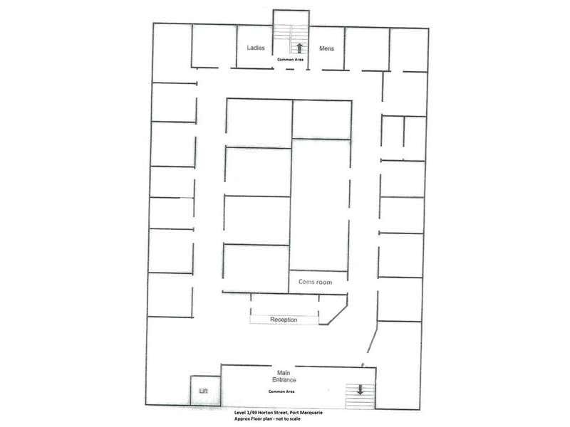 Level 1/49 Horton Street Port Macquarie NSW 2444 - Floor Plan 1