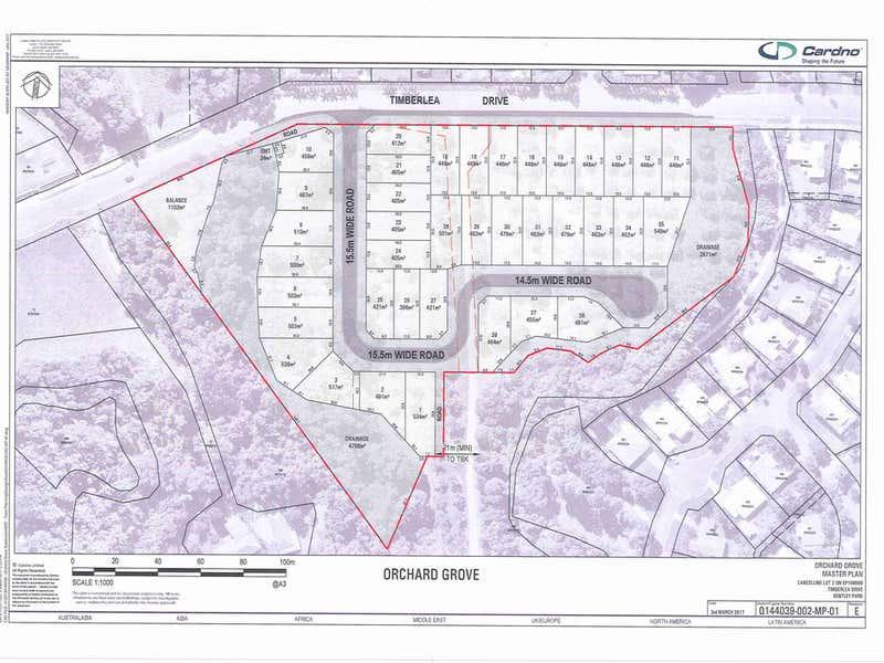 43-53 Timberlea Drive Bentley Park QLD 4869 - Floor Plan 1