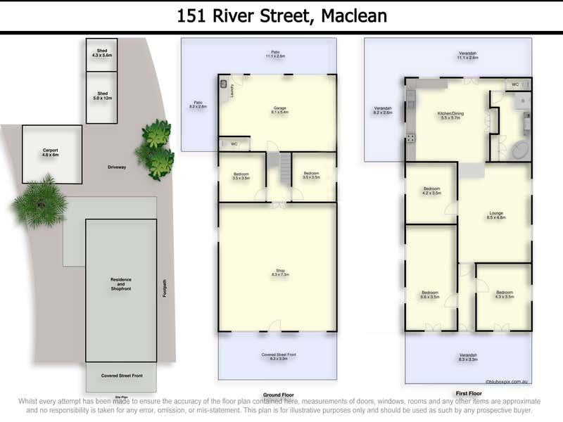 151 River Street Maclean NSW 2463 - Floor Plan 1