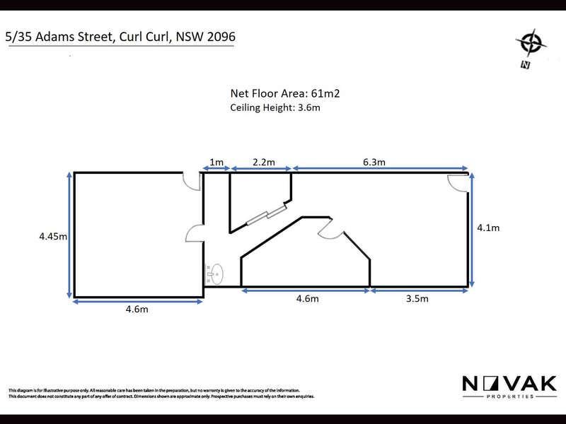 5/35 Adams Street Curl Curl NSW 2096 - Floor Plan 1