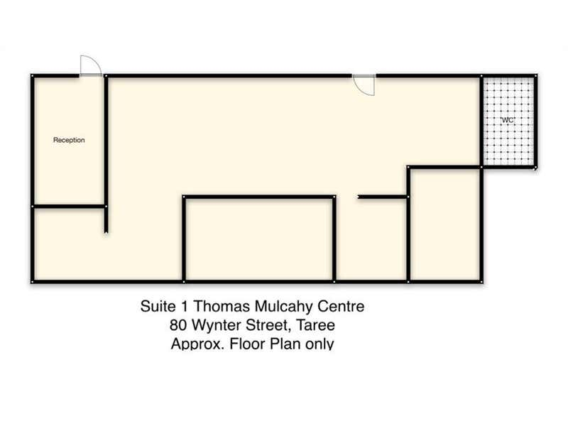 Thomas Mulcahy Centre, Suite 1/80 Wynter Street Taree NSW 2430 - Floor Plan 1