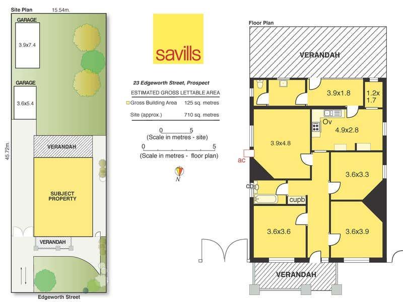23 Edgeworth Street Prospect SA 5082 - Floor Plan 1