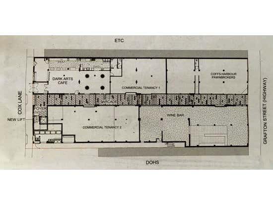 74 Grafton Street (Pacific Highway) Coffs Harbour NSW 2450 - Floor Plan 1