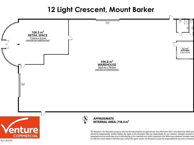 12 Light Crescent Mount Barker SA 5251 - Floor Plan 1