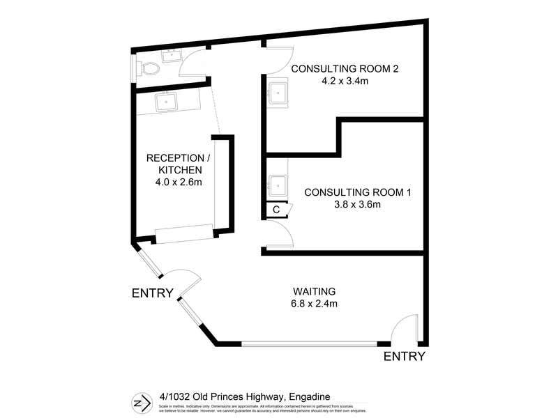 4/1032 Old Princes Highway Engadine NSW 2233 - Floor Plan 1