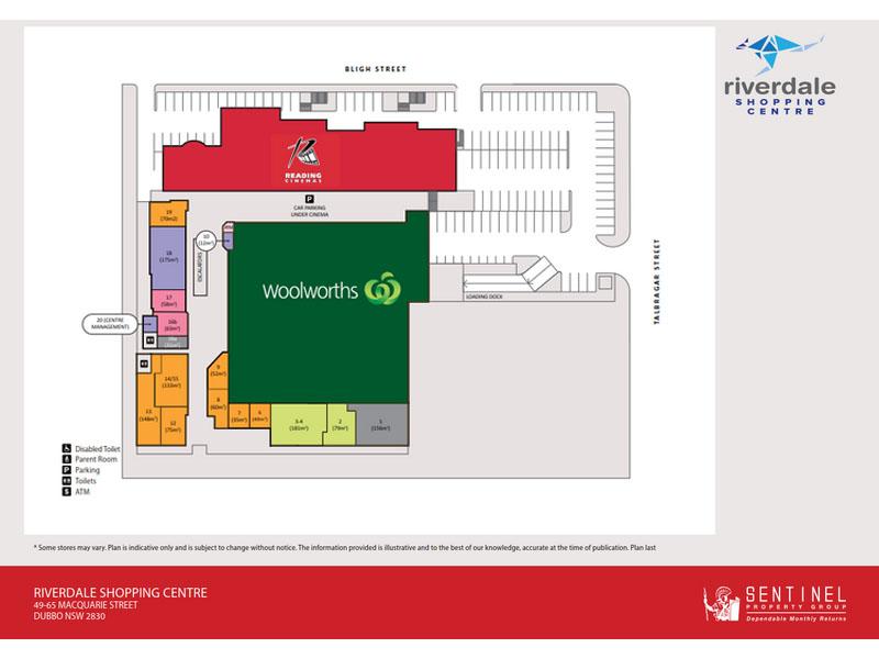 Fonkelnieuw Riverdale Shopping Centre, 49-65 Macquarie Street, Dubbo, NSW 2830 LN-73
