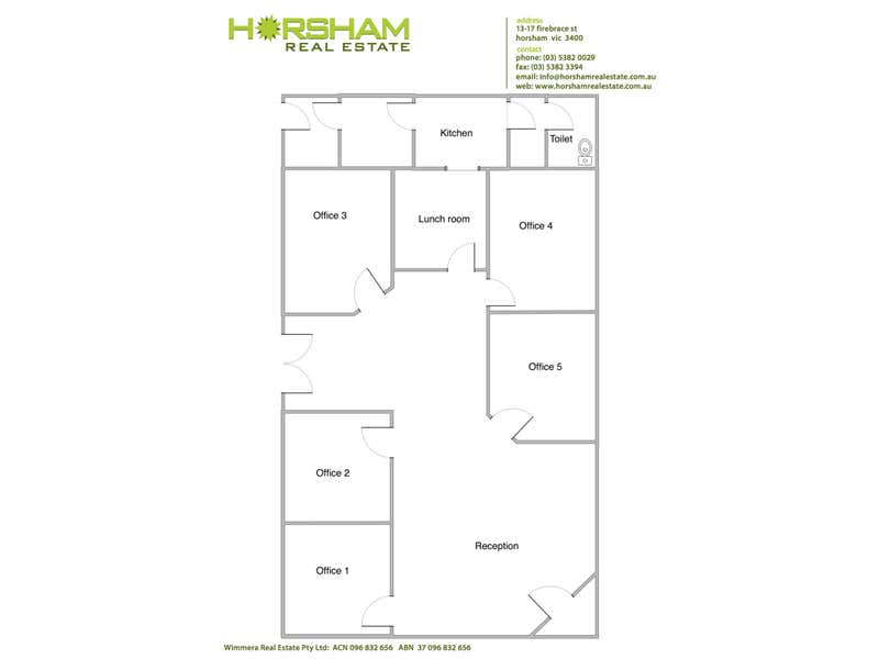 148 Baillie Street Horsham VIC 3400 - Floor Plan 1