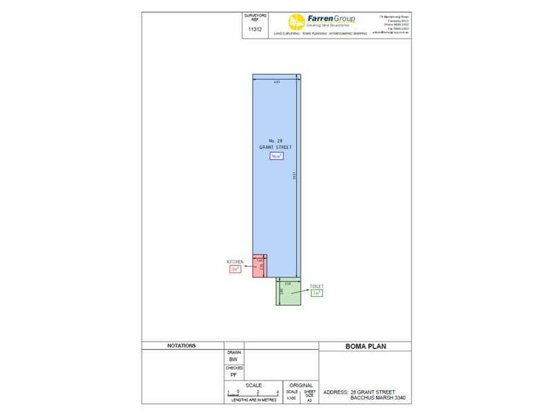 28 Grant Street Bacchus Marsh VIC 3340 - Floor Plan 1