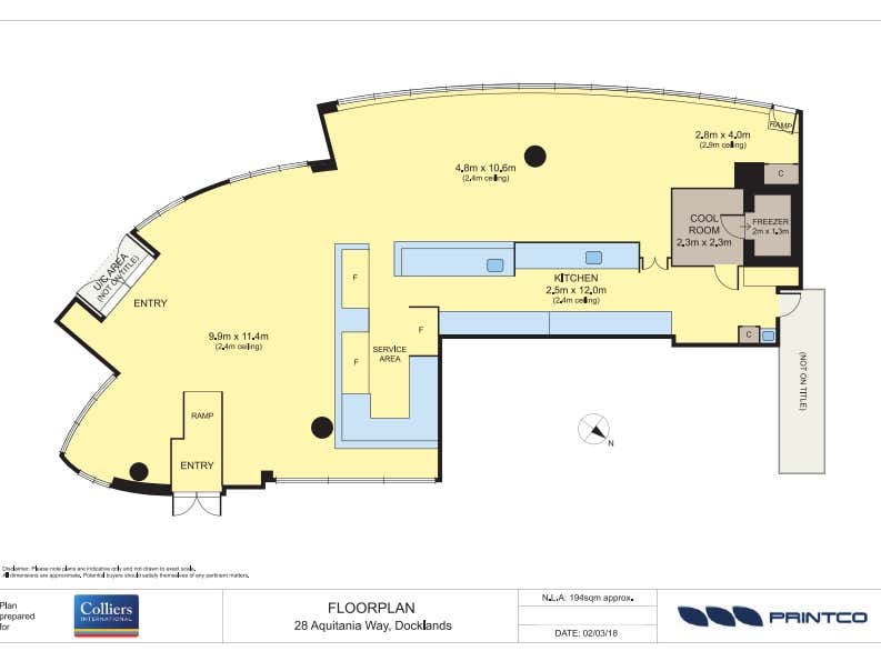 28 Aquitania Way Docklands VIC 3008 - Floor Plan 1