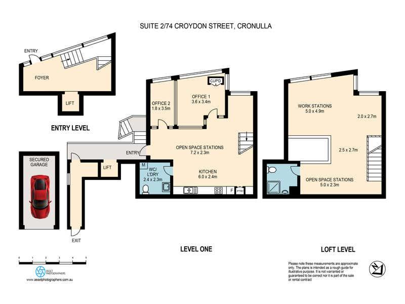 ELEMENT, 2/74 Croydon Street Cronulla NSW 2230 - Floor Plan 1