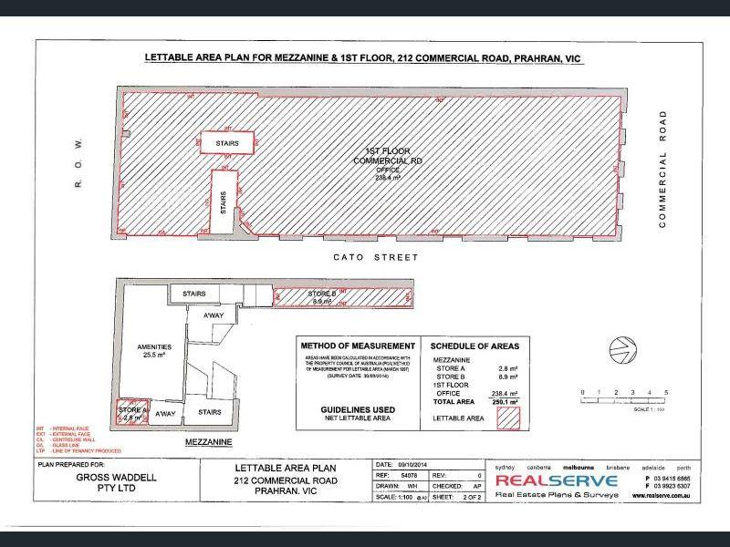 1/212 Commercial Road Prahran VIC 3181 - Floor Plan 1