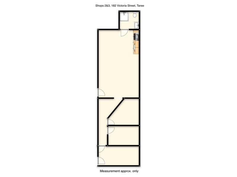 2 & 3/182 Victoria Street Taree NSW 2430 - Floor Plan 1