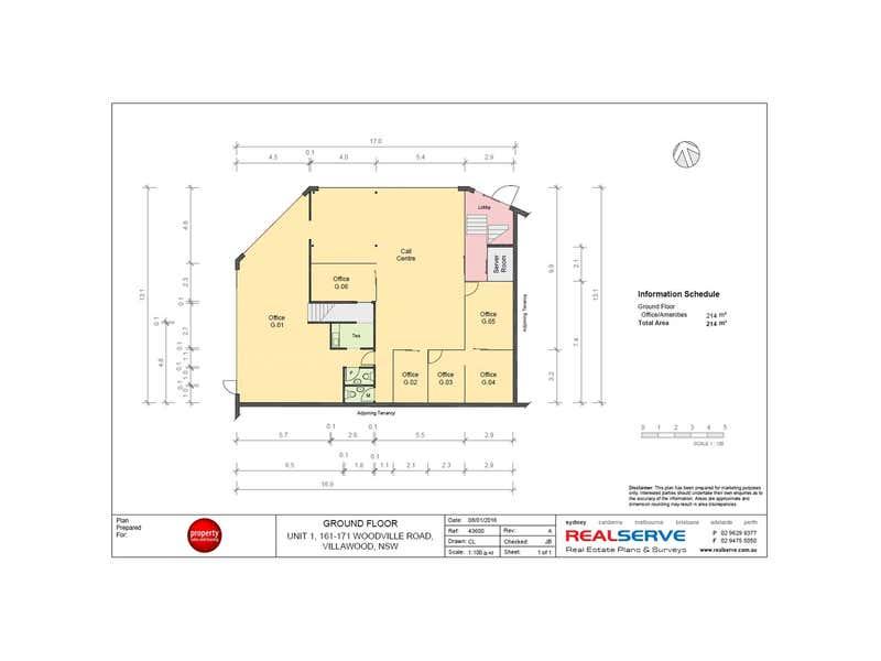 Unit 1 - Whole, 161 Woodville Road Villawood NSW 2163 - Floor Plan 2
