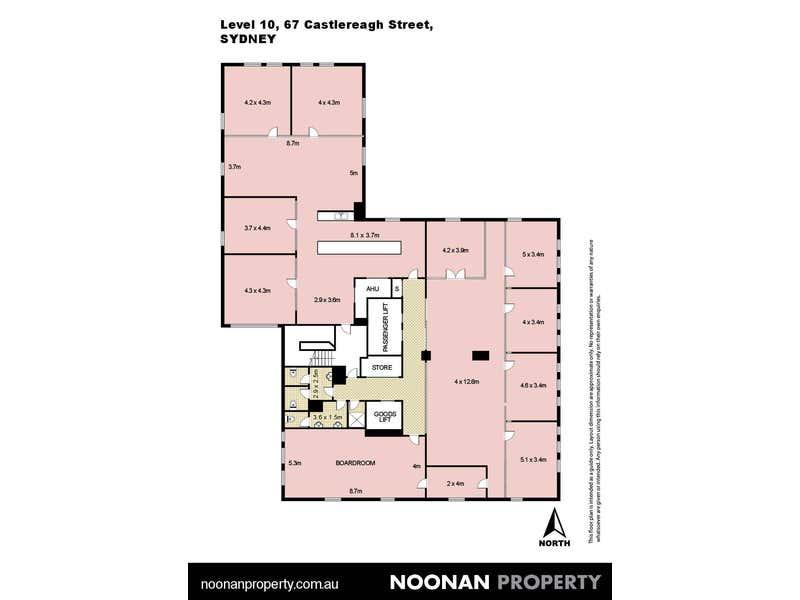 Culwulla Chambers, Level 10, 67 Castlereagh Street Sydney NSW 2000 - Floor Plan 2