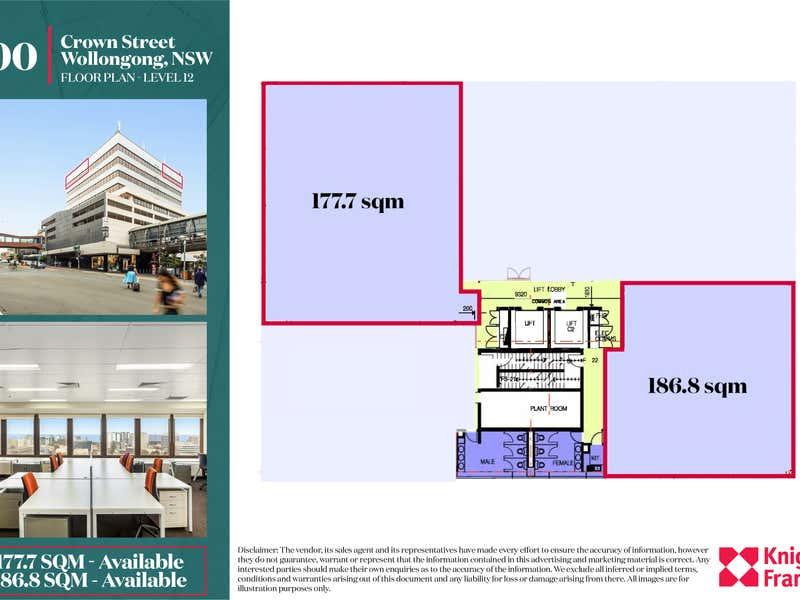 200 Crown Street Wollongong NSW 2500 - Floor Plan 1