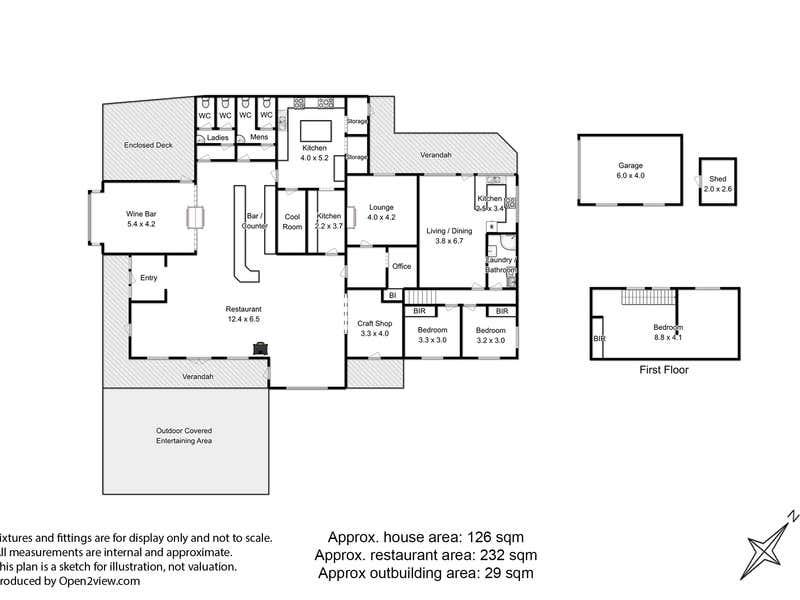 2-4 Short Street Huonville TAS 7109 - Floor Plan 1