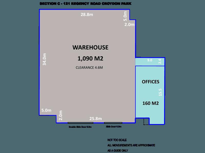 121 Regency Road Croydon Park SA 5008 - Floor Plan 1
