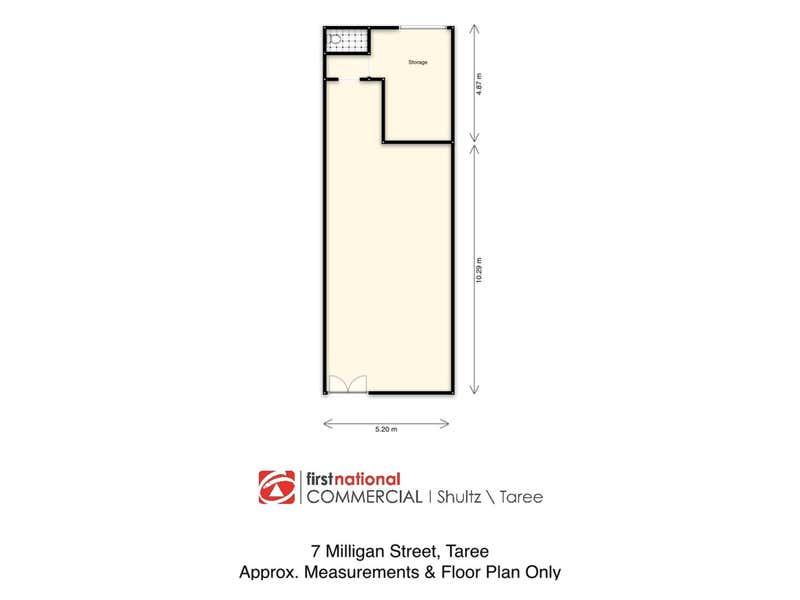 7 Milligan Street Taree NSW 2430 - Floor Plan 1