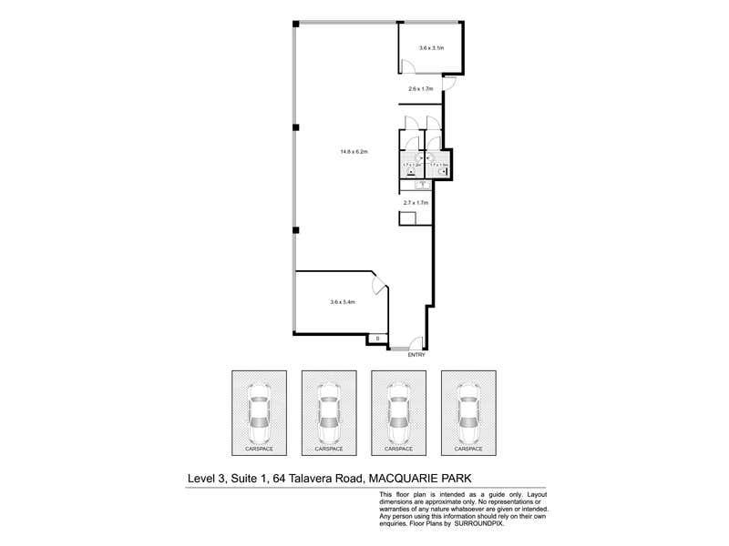 1/64 Talavera Road Macquarie Park NSW 2113 - Floor Plan 1