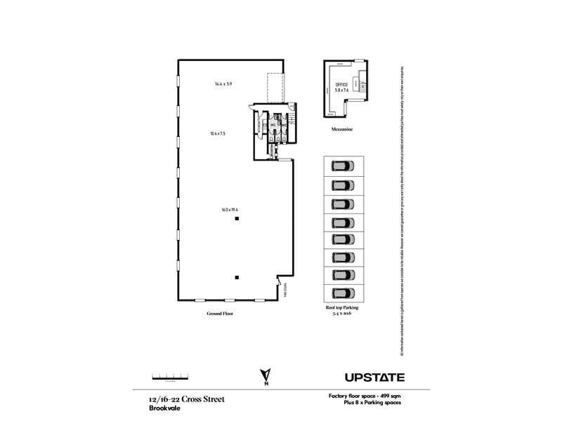 12/16-22 Cross Street Brookvale NSW 2100 - Floor Plan 1