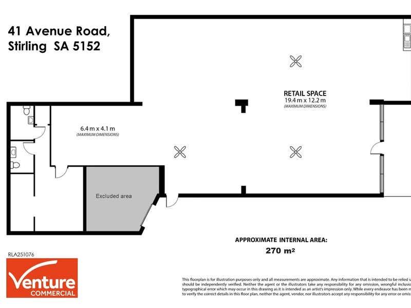41 Avenue Road Stirling SA 5152 - Floor Plan 1