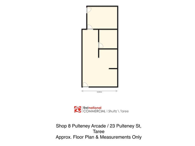 Pulteney Arcade, Shop 8/23 Pulteney Street Taree NSW 2430 - Floor Plan 1