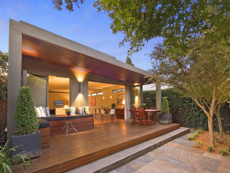 Photo of an outdoor living design from a real Australian ... on Aust Outdoor Living id=59875